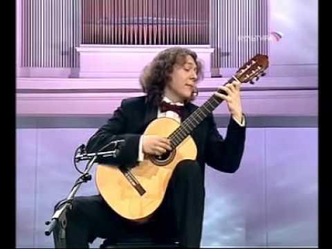 Rare Guitar Video Dimitri Illarionov plays Valse en Skai by Roland Dyens