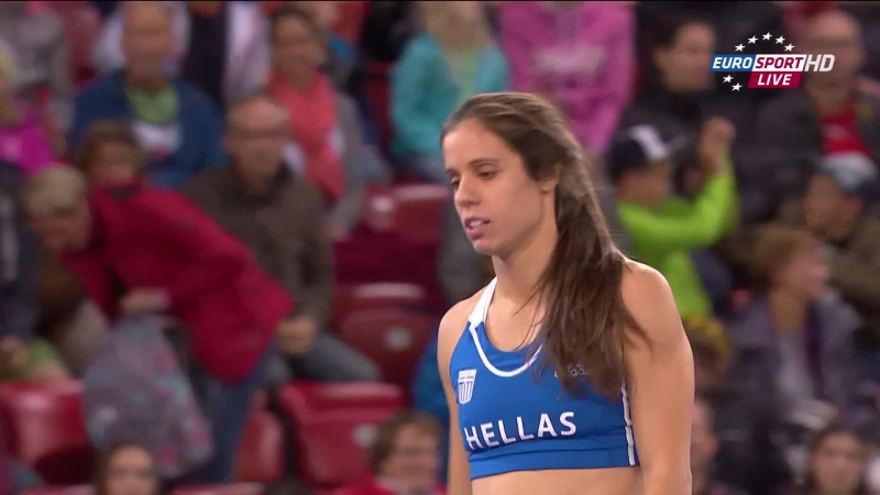 Ekaterini Stefanidi. Pole Vault. Final. 22nd European Athletics Championships. Zurich (2014)