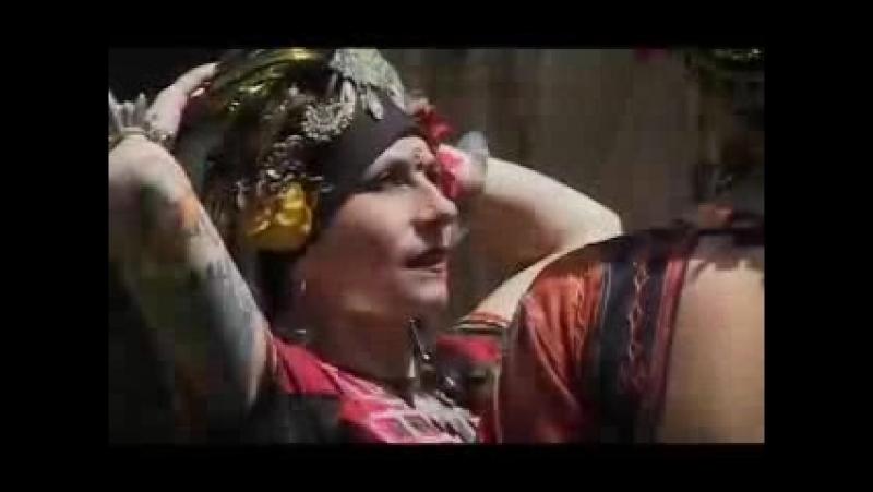 American Tribal Style Основательница трайбла Каролина Нериккио и её клан Fat Chance Belly Dance Калифорния