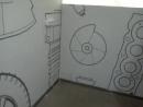 Роспись стен в Волгодонске Австосервис Волгодонск зона ожидаия тдыха для посетителей Роспись стен в авто сервисе 2ой этаж