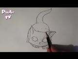 Как нарисовать маленького котенка аниме - Как нарисовать кошку или кота