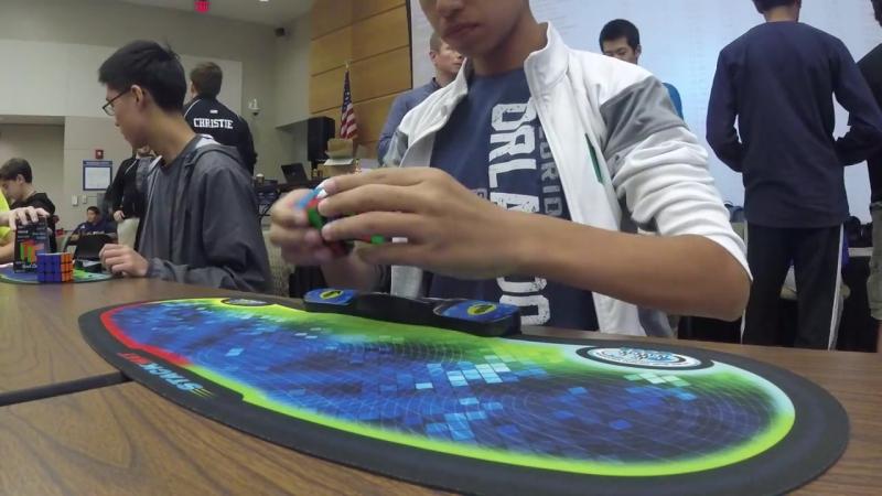 4.69 Rubiks Cube World Record - Patrick Ponce
