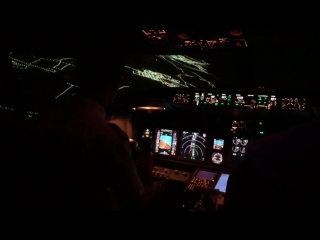 my first flight for boeing 737