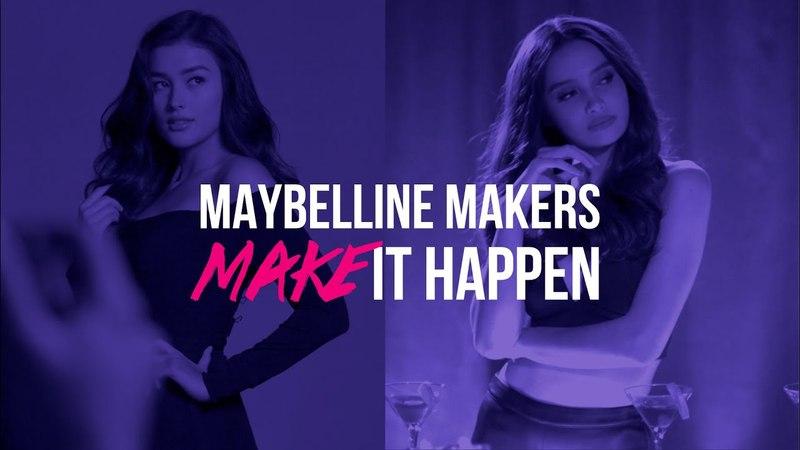 Make It Happen Maybelline Makers Liza and Kelsey MakeItHappen