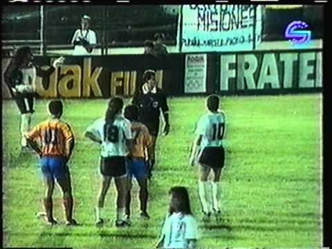 1992 February 4 Argentina 1 Ecuador 0 Olympics Qualifier