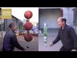 Его руки не для скуки: Китайский крестьянин раскручивает все, что попадается ему в руки!