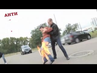 Пожароопасные связи! Коллекторы подожгли должника
