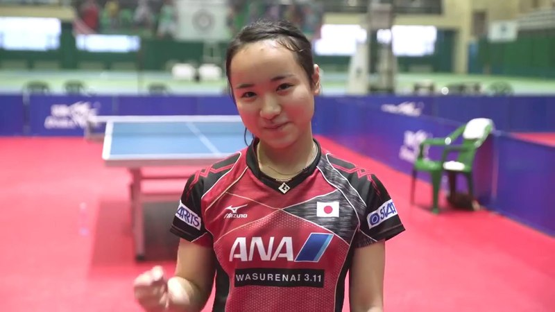 Mima Ito Hina Hayata takes on the TableTennis Challenge