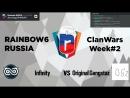 Rainbow6-RUSSIA | CW2 | Infinity vs Original Gangstaz
