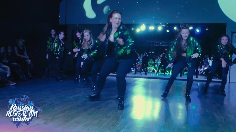 группа Azucar blanca(г.Одинцово), 2 место в конкурсе шоу на Russian Reggaeton Winter