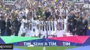 Gianluigi Buffon lifts up Trophy in Last Ever Game for Juventus