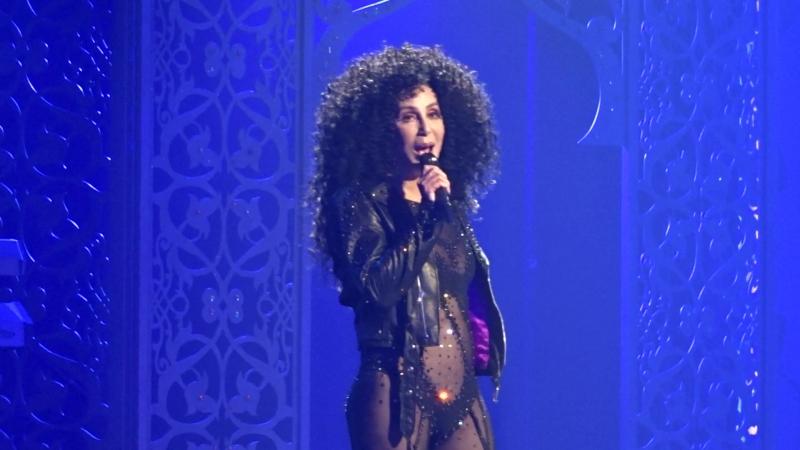 Шоу-концерт Cher Classic Cher в MGM-Park в Лас-Вегасе, май 2018, 10