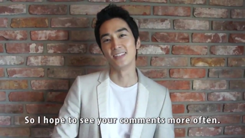 Сон Сын Хон открыл свой фейсбук:Обращение к фанам Song Seung Heon Facebook message to all fans - 10.4.2012