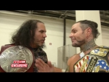 WWE PPV Greatest Royal Rumble 27.04.2018 - Brother Nero is surprised by his Woken brother after a golden expedition Exclusive