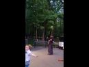 Поют наши гимназисты в день Победы в Таганском парке