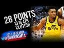 Donovan Mitchell Full Highlights WCR1 Game 2 OKC Thunder vs Utah Jazz - 28-CLUTCH! | FreeDawkins
