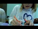 Моё первое видео!Я в школе на Изо!👍💖💕