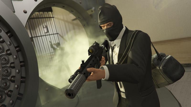 GTA: Online БЕРЕМ МАЛЕНЬКИЙ БАНК И УХОДИМ ОТ ЛЕГАВЫХ!