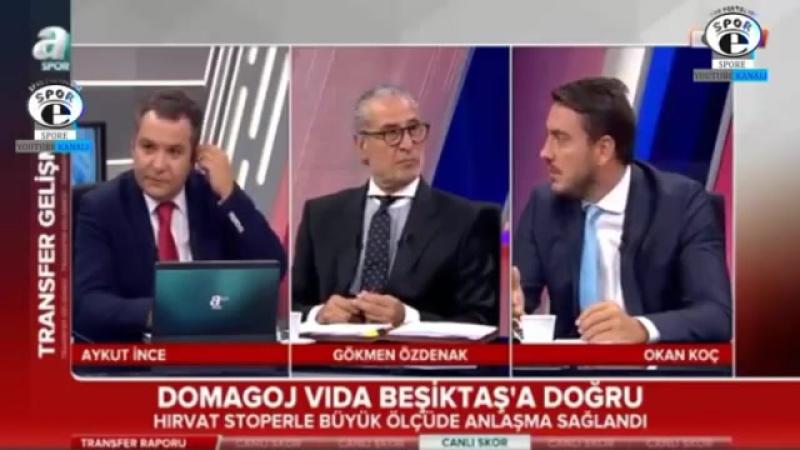Beşiktaş Transfer Raporu ¦ BJK' de Vida transferi yorumları 12 Ağustos 2017.mp4