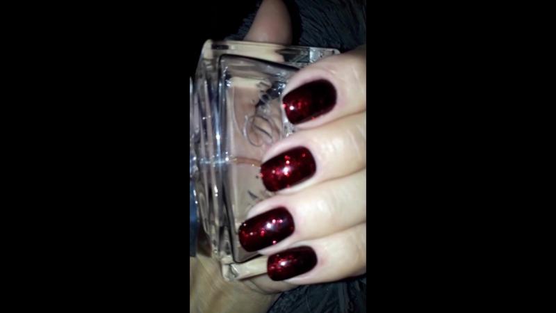 красный с черным... и блеск...