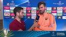 Alisson responde provocação após Roma eliminar Barcelona!