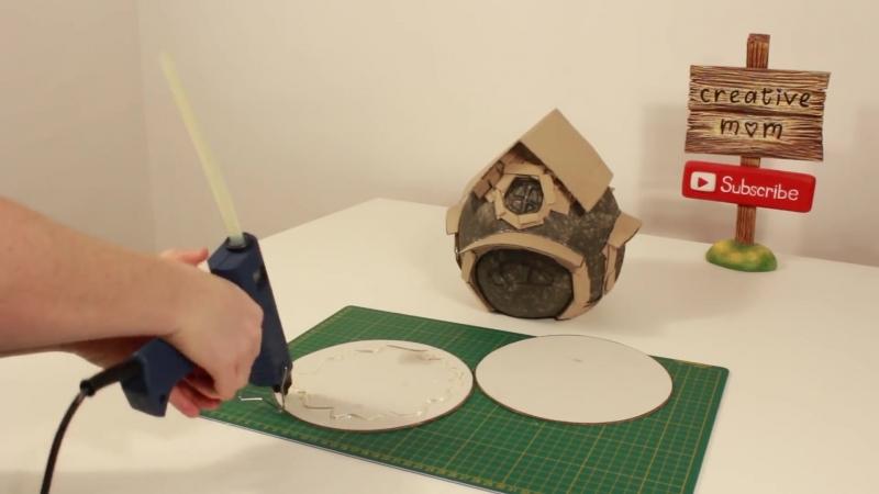 DIY Fairy House Lamp Using a Balloon » Freewka.com - Смотреть онлайн в хорощем качестве