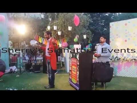 Birthday Magic Show of Sherry's Signature Events Flower Arrangement P 28