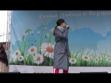 Юлия Беретта Дочь моего отца (премьера) и Без падения (Сад Эрмитаж 08.07.2017)