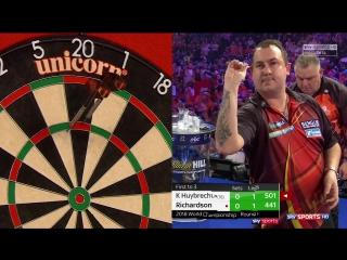 Kim Huybrechts vs James Richardson (PDC World Darts Championship 2018 / Round 1)