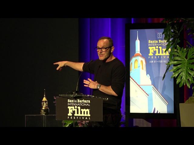 SBIFF 2018 Clark Gregg American Riviera Award Presentation Sam Rockwell Speech