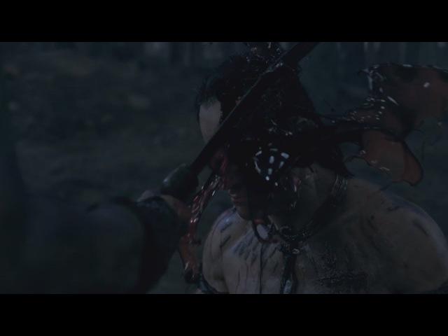 Спартак Месть Ганик убивает Египтянина (Смерть Эномая)