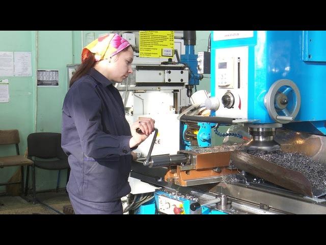 Образец рабочего коллектива. Женская бригада токарей цеха № 10 ВСМПО