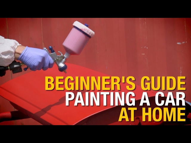 Beginner's Guide How To Paint A Car At Home In 4 Easy Steps Eastwood