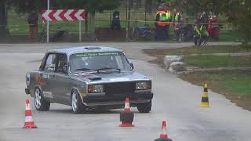 Tukacs Ákos-Lada 2107 Évadzàró Autós nap 2017.-Lepold Sportvideo