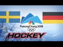Olympic Game 2018, SWE vs GER, Highlights Hockey..