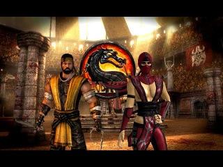 Mortal Kombat 9 (PC) - Hanzo Hasashi skin & PS Vita Skarlet skin mods - Gameplay + Download link