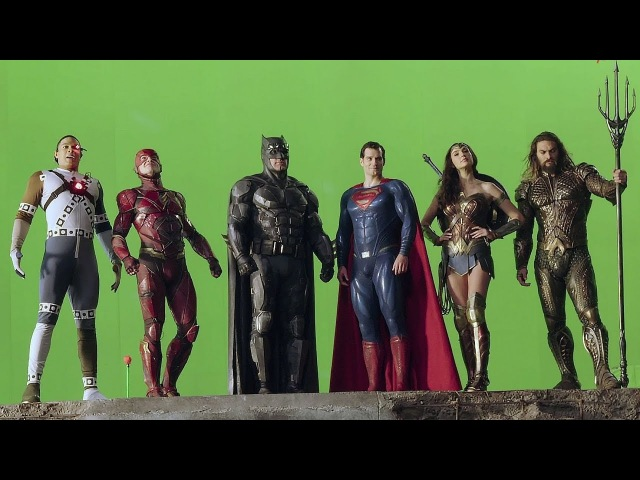 The Making Of 'JUSTICE LEAGUE' | Extras