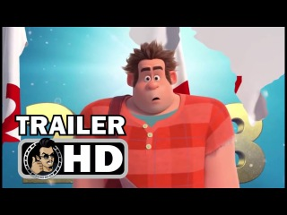 WRECK-IT RALPH 2 New Years Trailer (2018) Disney Animated Movie HD