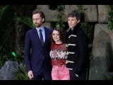 World Premiere of Early Man in London Eddie Redmayne,Tom Hiddleston,Maisie Williams