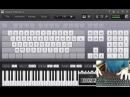 A Cruel Angel's Thesis - Evangelion OP ( Piano PC ) WebCam