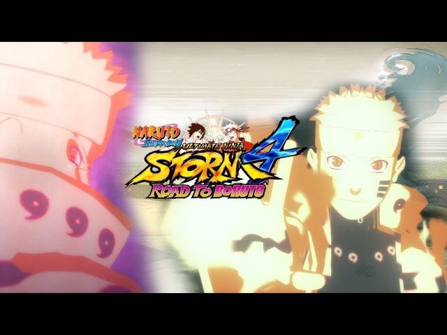 Naruto Ultimate Ninja Storm 4 MOD:Naruto(Bijuu Mode)★
