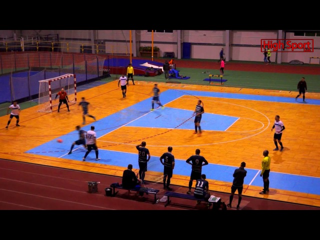 Highlights Динамо 1-7 Рятувальник 14.01.2018   9 тур HighSportLive   Суперліга АФС