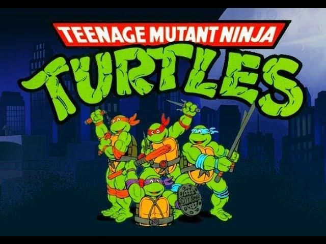 Teenage Mutant Ninja Turtles - Red Sky Battle (Ver. 1.985). OpenBor [Прохождение / Walkthrough]