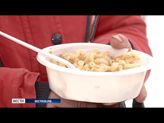 В Вологде волонтеры организовали кухню для бездомных
