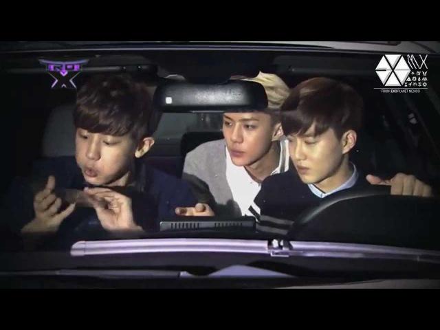 [EXO CUT] 131207 Chanyeol, Suho y Sehun - Preview
