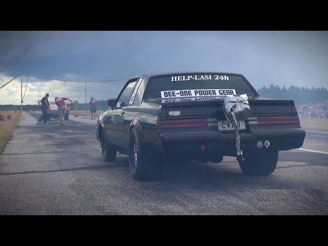 1,000 HP Buick Grand National - Muscle Car Insanity!!