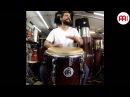 Beto Torrens Bomba Styles from Puerto Rico MEINL Floatune Congas