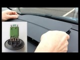 How to Replace Blower Motor Resistor Skoda Roomster Skoda Fabia
