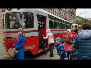 Встречаем 110 Лет Петербургского Трамвая