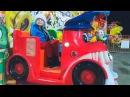 Малыш и Беби Борн на машинке! Funny Playground for kids and Nursery Rhymes Songs for children